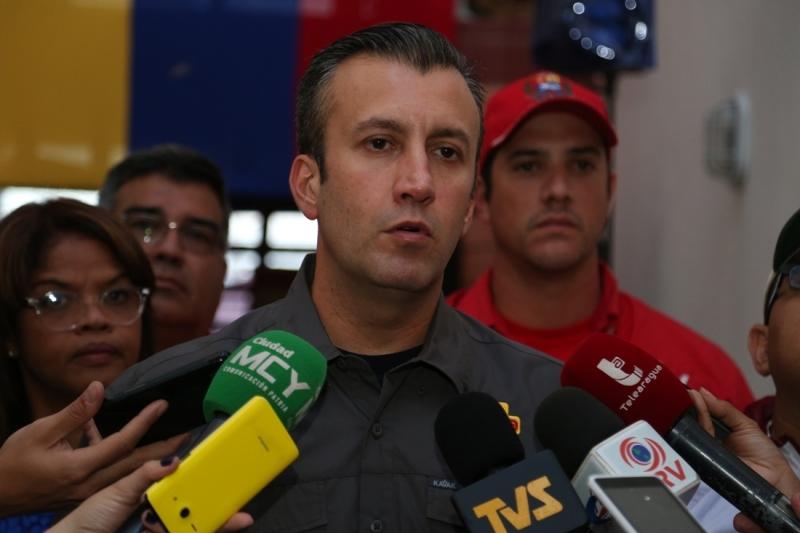 El vicepresidente venezolano Tareck El Aissami es el responsable del nuevo plan de seguridad / Foto: AVN
