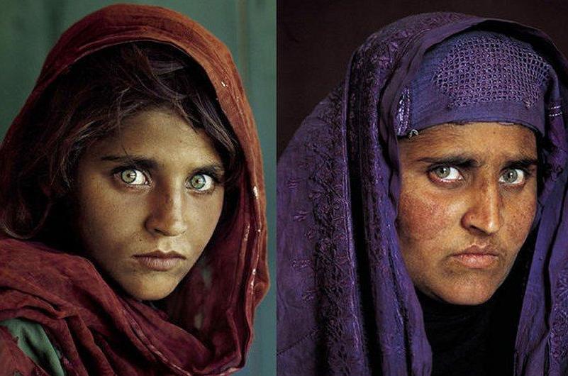 """Afganistán busca liberación de """"niña afgana"""" de National Geographic"""
