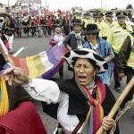 ECUADOR-POLITICS-INDIGENOUS-MARCH