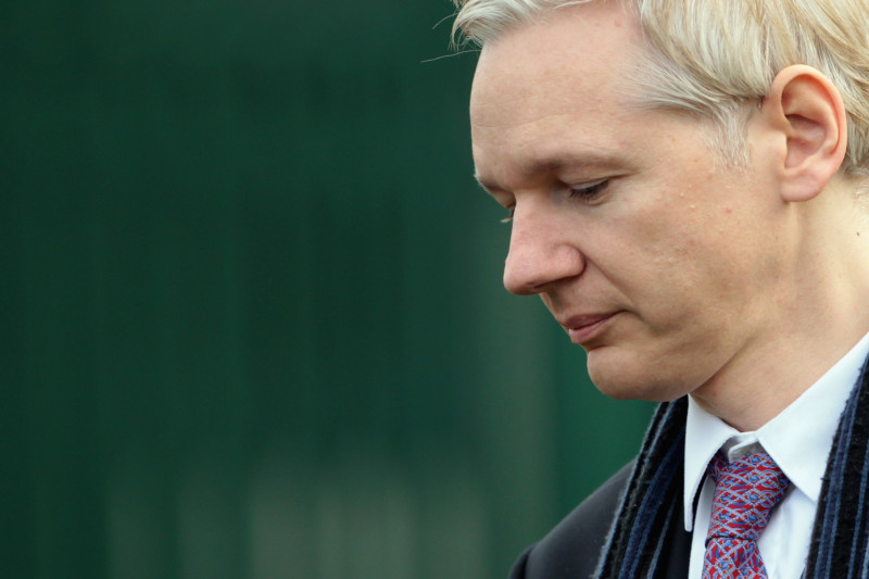Julian Assange In Court For His Extradition Hearing