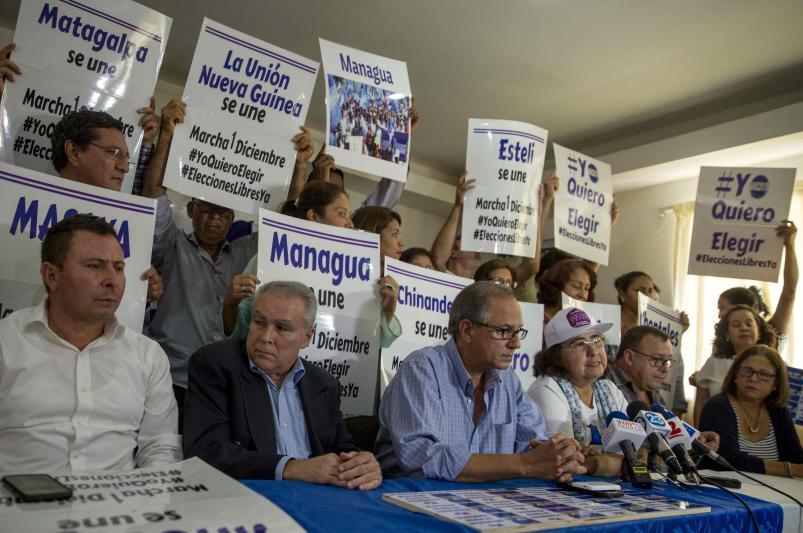 Nicaragüenses recibirán al secretario de la OEA con protestas contra el canal