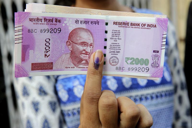 billetes india