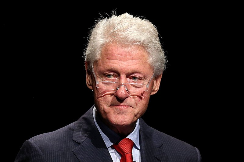 MELBOURNE, AUSTRALIA - JULY 23:  Former U.S. President Bill Clinton addresses the 20th International AIDS Conference at The Melbourne Convention and Exhibition Centre on July 23, 2014 in Melbourne, Australia. Several researchers, activists and health workers due to attend the conference were killed enroute in the Malaysian Airlines plane MH17 shot down over Eastern Ukraine.  (Photo by Graham Denholm/Getty Images)