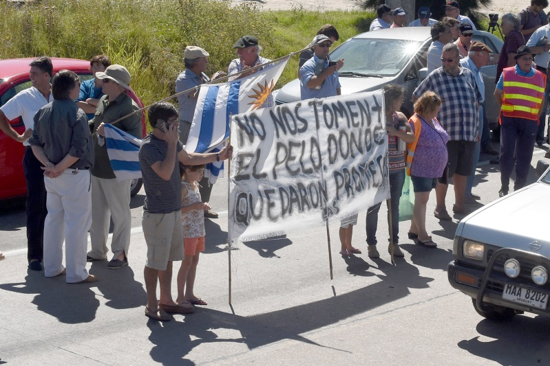 URUGUAY-AGRARIAN-PRODUCERS-PROTEST