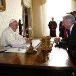 El Papa Francisco recibe en audiencia al presidente de Uruguay tabaré Vázquez