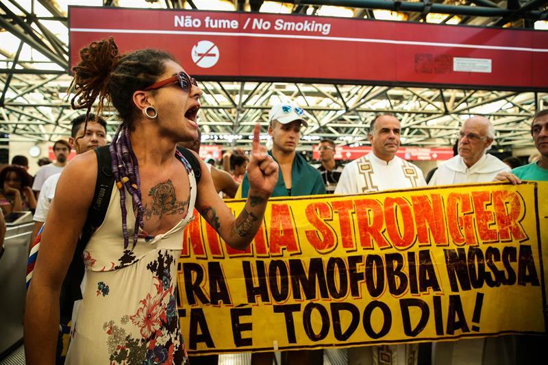 protesta asesinato brasil
