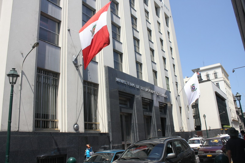 ministerio de relaciones exteriores perú