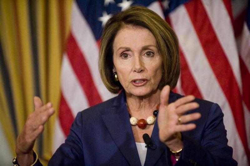 WASHINGTON, DC - Oct. 08: House Speaker Nancy Pelosi, D-Calif., during her weekly news conference in the U.S. Capitol. (Photo by Scott J. Ferrell/Congressional Quarterly) (Newscom TagID: cqphotos036852)     [Photo via Newscom]