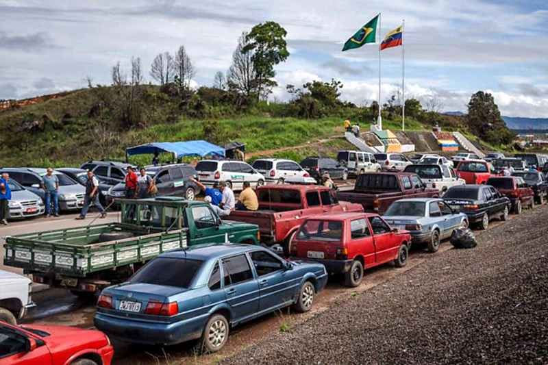 Resultado de imagen para Brasil frontera con VENEZUELA