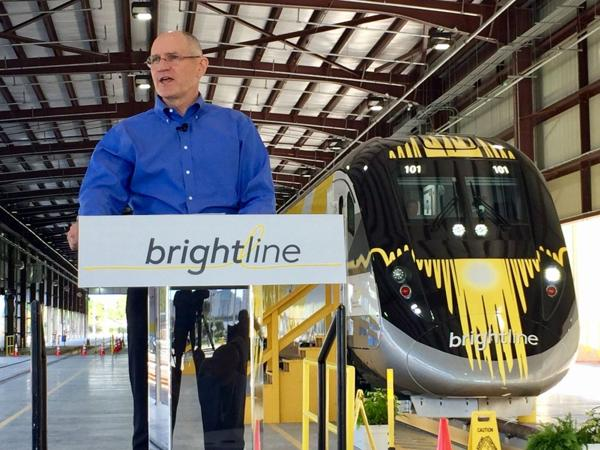 Presidente de Brightline, Mike Reininger – Foto: Alan Gomez, USA TODAY
