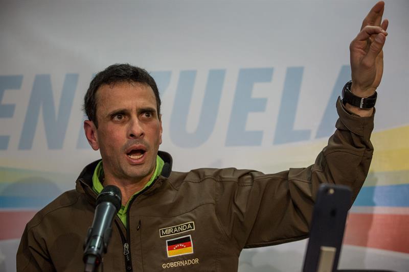 Oposición venezolana denunció presencia de francotiradores en protesta del lunes