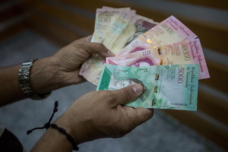billetes venezuela