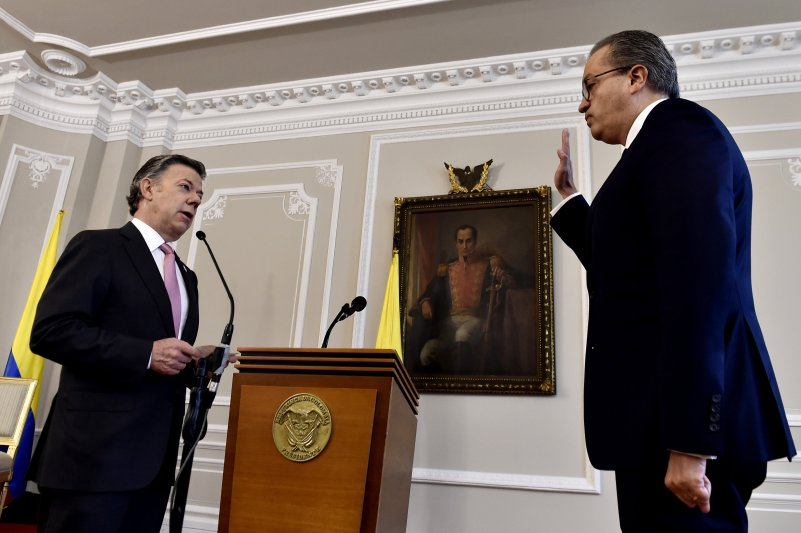 POSESIÓN DEL NUEVO PROCURADOR GENERAL DE LA NACIÓN DE COLOMBIA