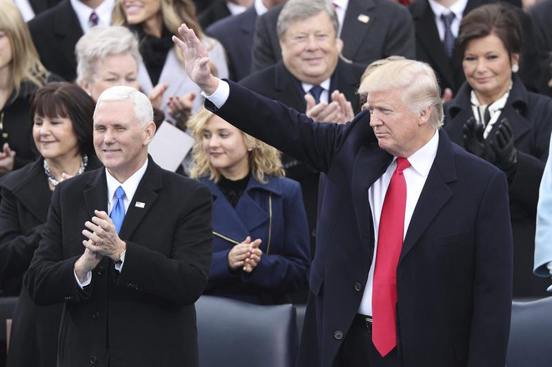 Trump se juramenta como nuevo presidente de EEUU [en vivo]