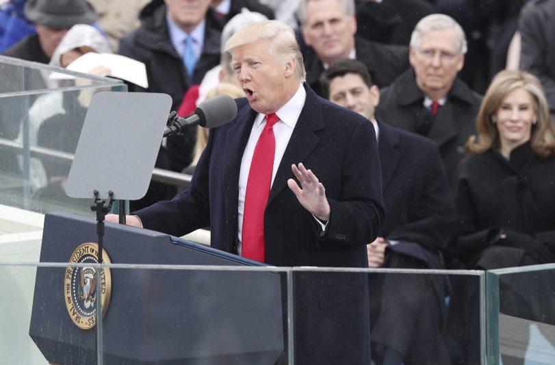 Discurso de investidura de Trump: Determinaremos rumbo de EEUU por muchos años