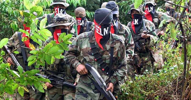 Capturan a cuatro presuntos guerrilleros del ELN en Colombia