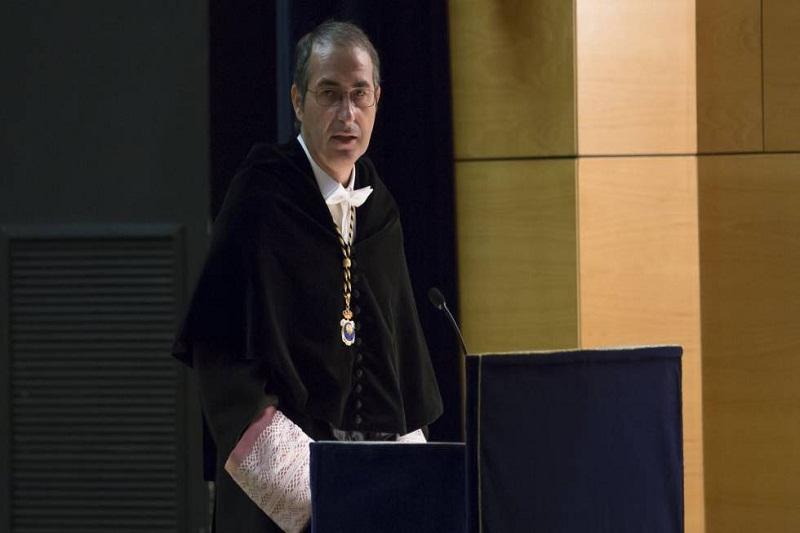 Fernando Suárez, rector de la Universidad Rey Juan Carlos