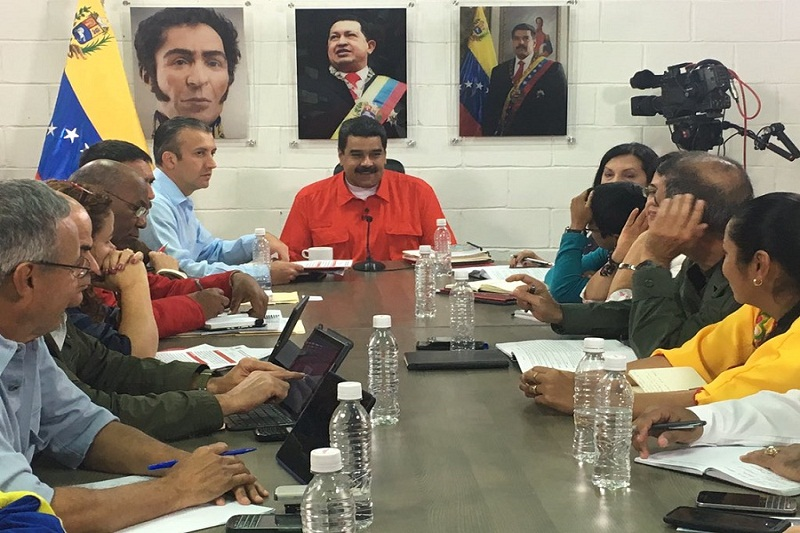 Maduro ministros tapa
