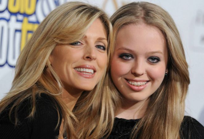 Marla Maples y Tiffany Trump