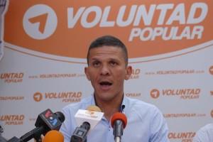 Diputado del partido opositor Voluntad Popular Gilber Caro