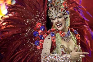 Las garotas son una de las principales atracciones del carnaval