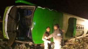 Foto: @24HorasTVN / La unidad de transporte viajaba a Chile