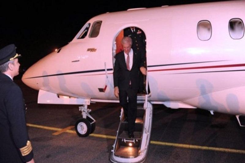 avion tabare vasquez uruguay