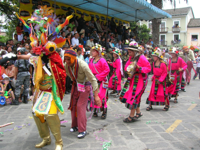 Foto Carnaval de Ecuador
