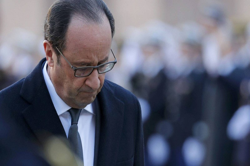 Hollande, actual presidente de Francia