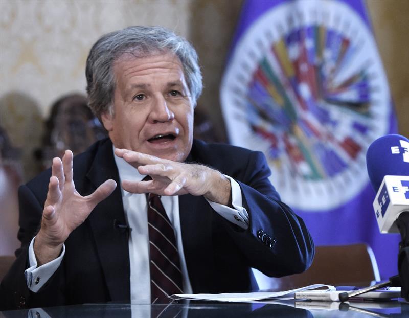 """Luis Almagro: """"no se pueden reconocer"""" resultados de elección en Venezuela (Video)"""