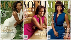 Es tradición que la primera dama salga en la revista. Michelle Obama estuvo 3 veces