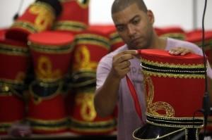 Río de Janeiro se prepara para el desfile más esperado del año