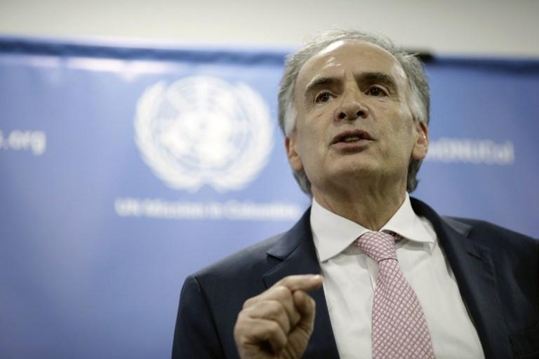 ONU espera recibir 7 mil armas por parte de las FARC