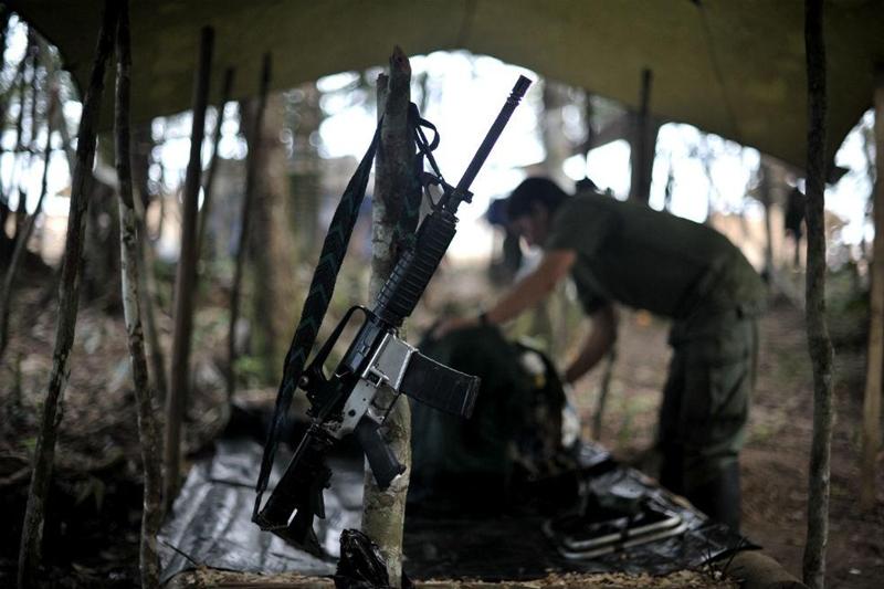 Armas FARC conflicto