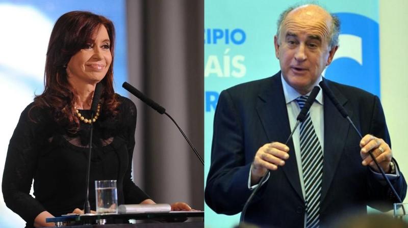 Cristina Kirchner y Oscar Parrilli