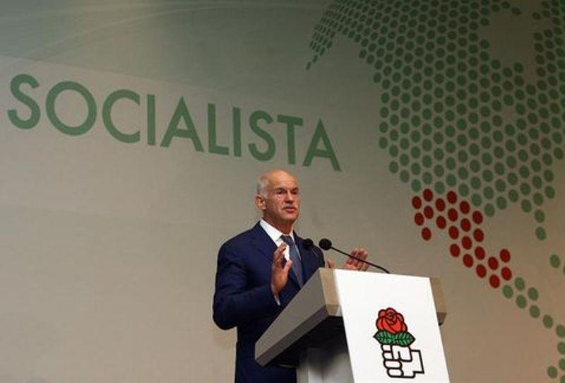 Internacional Socialista Yorgos Papandreu Cortesía Milenio