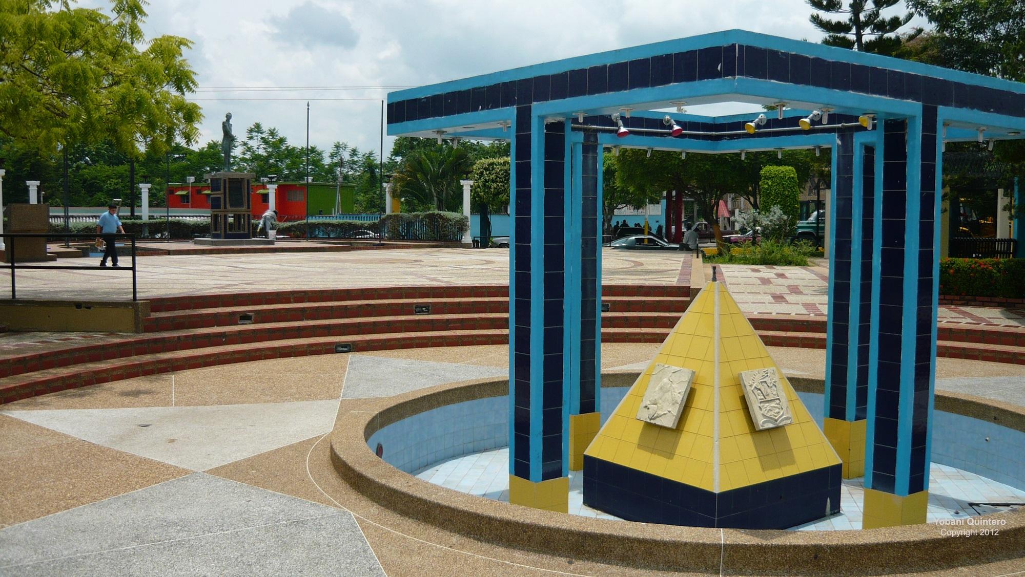 Plaza Bolívar de Casigua. Foto: www.worldtravelserver.com
