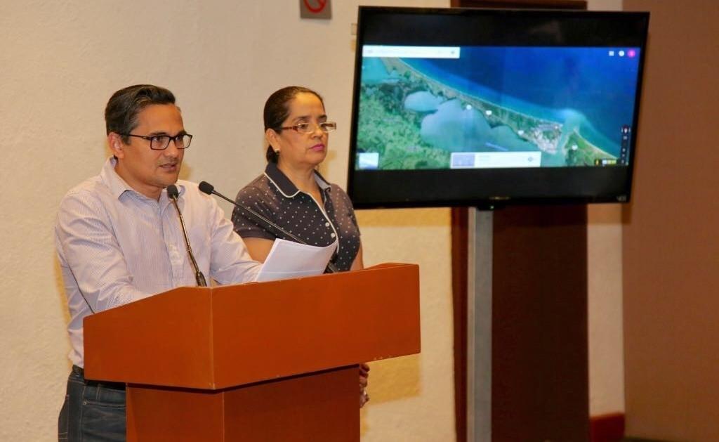 Foto: Jorge Winckler en Conferencia de Prensa/ Iván Sánchez