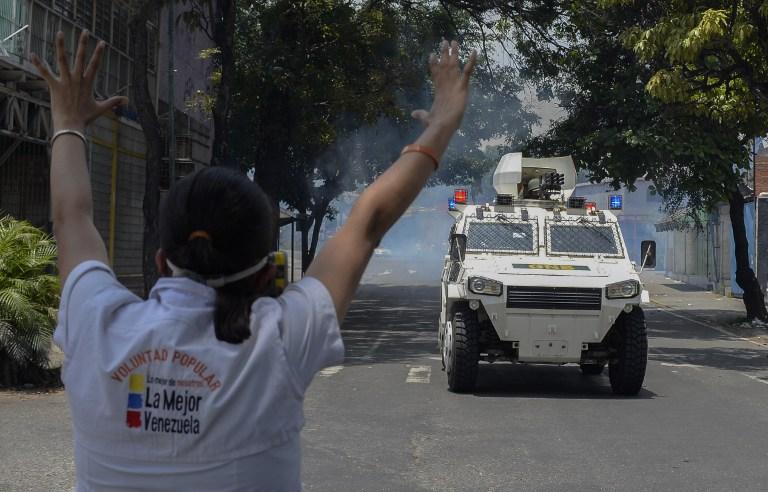 AFP PHOTO / Federico PARRA