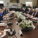 ALmuerzo en la Casa Blanca