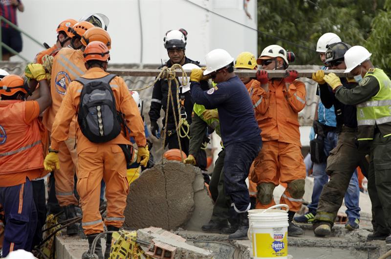 Colombia: Derrumbe deja al menos 4 muertos en Cartagena de Indias