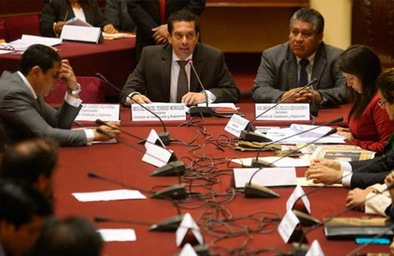 COmisión congreso Perú