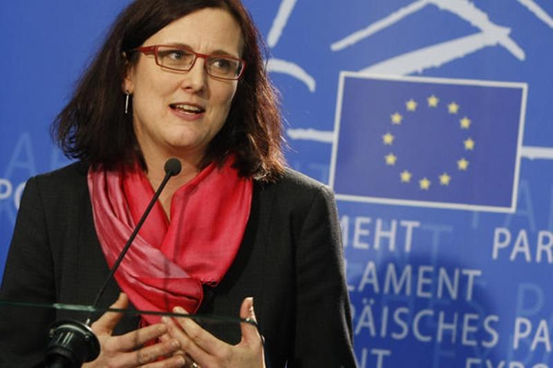 Cecilia Malmström Ministra de Comercio europeo