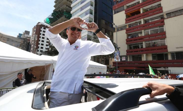 Rafael Correa - El Universo