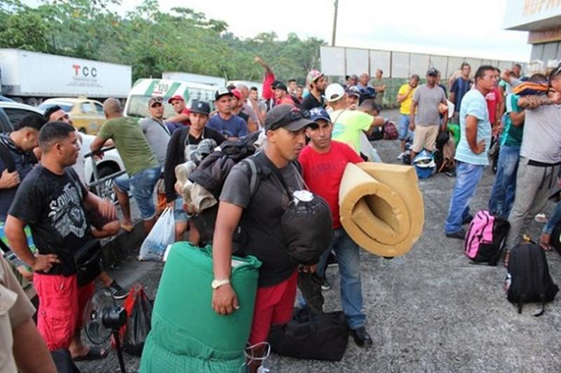 Cubanos irregulares en Panamá