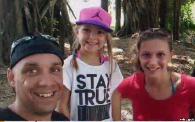 Familia canadiense en Cuba
