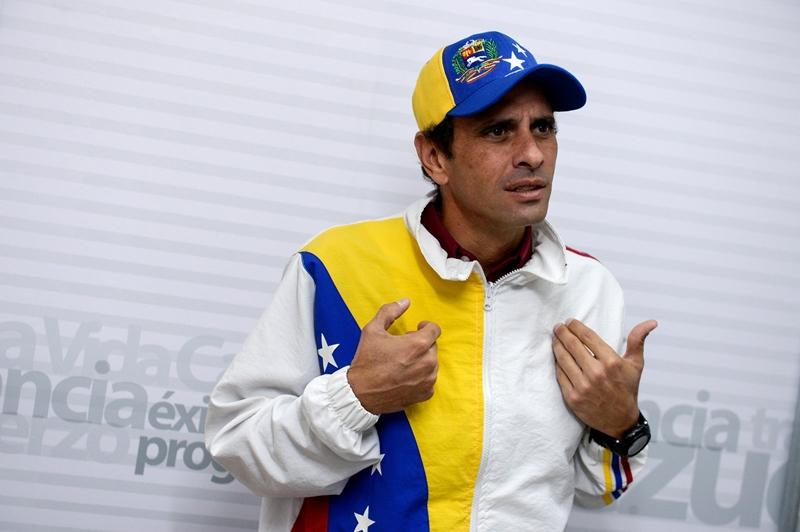 VENEZUELA-POLITICS-ELECTIONS-CAPRILES