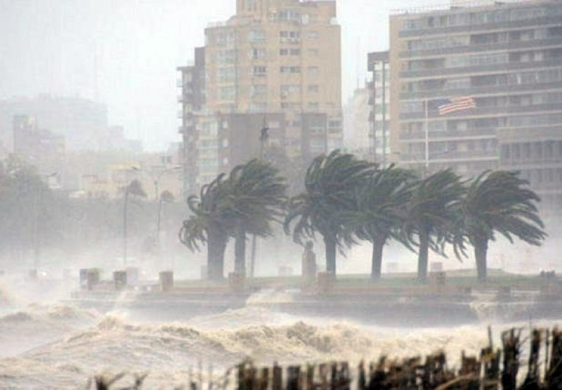 LLuvias y vientos huracanados en inviernos de 2016