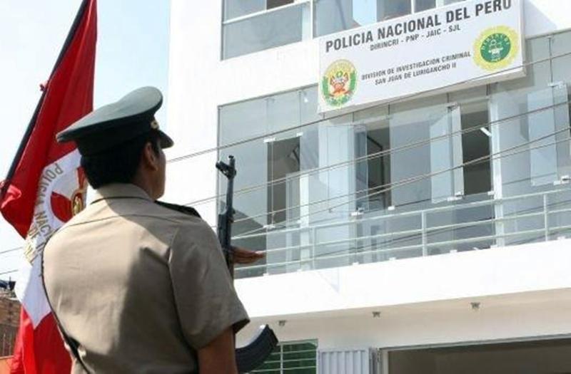 Policía perú nacional