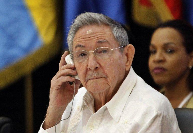 Raúl Castro presidente de Cuba
